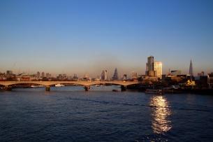 Smog on the River Thames