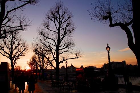 Southbank sunset