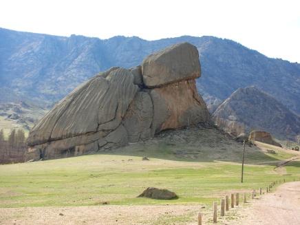 Turtle Rock, Mongolia